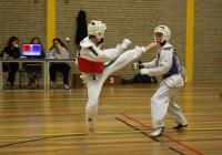 Taekwondoka's sparren op 24 november in Meijel