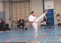 Danique Vossen 4e op Nationaal Kampioenschap Poomsae